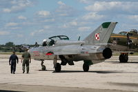 N711MG @ YIP - Mig-21 in Polish Air Force colors