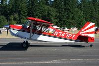N747PY @ KAWO - Arlington fly in