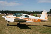 N1647R @ KAWO - Arlington fly in