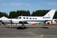 N421WK @ KAWO - Arlington fly in