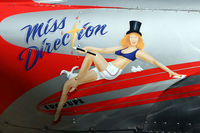 N2169H @ KAWO - Nice nose art for a none WWII military aircraft