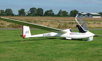 G-CJEE - Competitor in the Midland Regional Gliding Championship at Husband's Bosworth