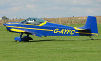 G-AYFC @ EGBK - Visitor to Sywell on 2008 Ragwing Fly-in day