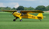 G-BOLB @ EGBK - 1941 Taylorcraft - Visitor to Sywell on 2008 Ragwing Fly-in day