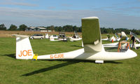 G-CJOE - Competitor in the Midland Regional Gliding Championship at Husband's Bosworth