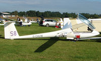 G-CHUW - Competitor in the Midland Regional Gliding Championship at Husband's Bosworth