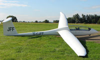 G-CJFF - Competitor in the Midland Regional Gliding Championship at Husband's Bosworth