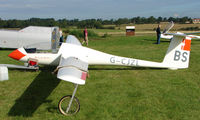 G-CJZL - Competitor in the Midland Regional Gliding Championship at Husband's Bosworth