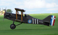 G-BIHF @ EGBK - Replica SE5A - Visitor to Sywell on 2008 Ragwing Fly-in day