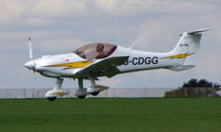 G-CDGG @ EGBK - Visitor to Sywell on 2008 Ragwing Fly-in day