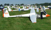 G-DDYX - Competitor in the Midland Regional Gliding Championship at Husband's Bosworth
