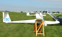 G-CJKN - Competitor in the Midland Regional Gliding Championship at Husband's Bosworth