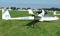 G-CJKD - Competitor in the Midland Regional Gliding Championship at Husband's Bosworth