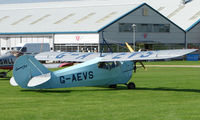 G-AEVS @ EGBK - 1937 Aeronca 100 - Visitor to Sywell on 2008 Ragwing Fly-in day