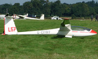 G-CFWF - Competitor in the Midland Regional Gliding Championship at Husband's Bosworth