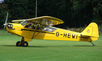 G-HEWI @ EGBK - 1944 Piper Cub - Visitor to Sywell on 2008 Ragwing Fly-in day
