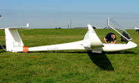 G-CJGS - Competitor in the Midland Regional Gliding Championship at Husband's Bosworth