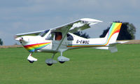 G-EWBC @ EGBK - Visitor to Sywell on 2008 Ragwing Fly-in day