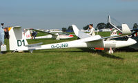 G-CJNB - Competitor in the Midland Regional Gliding Championship at Husband's Bosworth