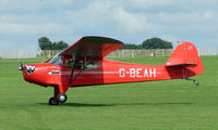 G-BEAH @ EGBK - 1946 Auster - Visitor to Sywell on 2008 Ragwing Fly-in day