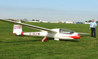 G-DCYM - Competitor in the Midland Regional Gliding Championship at Husband's Bosworth