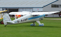 G-AJAP @ EGBK - 1946 Luscombe also wears NC45778 - Visitor to Sywell on 2008 Ragwing Fly-in day