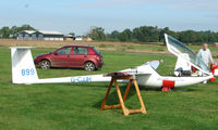 G-CJJH - Competitor in the Midland Regional Gliding Championship at Husband's Bosworth