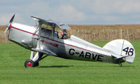 G-ABVE @ EGBK - 1932 Arrow Active - Visitor to Sywell on 2008 Ragwing Fly-in day