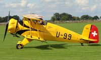 G-AXMT @ EGBK - 1938 Bucker Bu133 Jungmeister - Visitor to Sywell on 2008 Ragwing Fly-in day