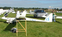 G-WLLS - Competitor in the Midland Regional Gliding Championship at Husband's Bosworth