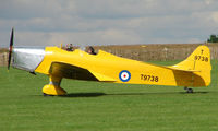 G-AKAT @ EGBK - 1940 Miles Aircraft Hawk Trainer 3 - Visitor to Sywell on 2008 Ragwing Fly-in day