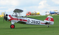 G-STIG @ EGBK - 1937 Focke Wulf FW44J - Visitor to Sywell on 2008 Ragwing Fly-in day