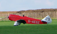 G-AESZ @ EGBK - 1937 Chilton DW1 - Visitor to Sywell on 2008 Ragwing Fly-in day