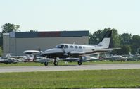 C-GREY @ KOSH - Cessna 340A - by Mark Pasqualino