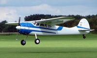N999MH @ EGBK - Cessna 195B - Visitor to Sywell on 2008 Ragwing Fly-in day