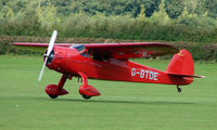 G-BTDE @ EGBK - 1940 Cessna 165 - Visitor to Sywell on 2008 Ragwing Fly-in day