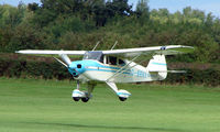 G-BRNX @ EGBK - Visitor to Sywell on 2008 Ragwing Fly-in day
