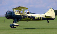 G-UPFS @ EGBK - 1941 Waco UPF-7 - Visitor to Sywell on 2008 Ragwing Fly-in day