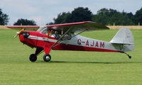G-AJAM @ EGBK - 1946 Auster - Visitor to Sywell on 2008 Ragwing Fly-in day