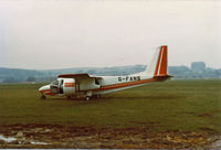 G-FANS - Registered Owner: Dowty Rotol Limited - Ex: G-51-251 > 5Y-AMU > G-FANS > G-HGPC > 8R-GGU w/o Sept 1994 - by Clive Glaister