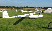 G-DEVO - Competitor in the Midland Regional Gliding Championship at Husband's Bosworth