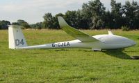 G-CJEA - Competitor in the Midland Regional Gliding Championship at Husband's Bosworth
