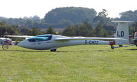 G-CHZZ - Competitor in the Midland Regional Gliding Championship at Husband's Bosworth