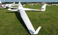 G-LIVS - Competitor in the Midland Regional Gliding Championship at Husband's Bosworth