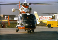 4101 @ GPM - Aerospatiale Dolphin used for USCG trials. At Grand Prairie, Aerospatiale Factory