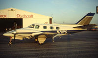 N711PS @ KCRP - 1992 Duke owners fly in