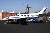 N15SY @ KCNO - 2007 Duke owners fly in