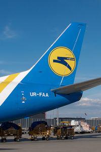 UR-FAA @ VIE - Ukraine Cargo Boeing 737-300
