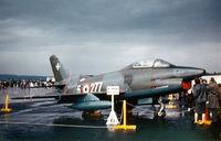 5-277 @ ETOU - Aeritalia/Fiat G.91R3 at Weisbaden Airshow @ 1961 - by Zane Adams