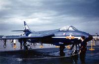 UNKNOWN @ ETOU - British Hawker Hunter at Wiesbaden Airshow @ 1961